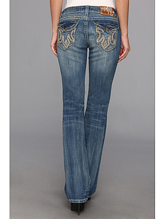 SALE! $49.99 - Save $85 on Mek Denim Rissani Easy Bootcut in Medium Blue (Medium Blue) Apparel - 62.97% OFF $135.00