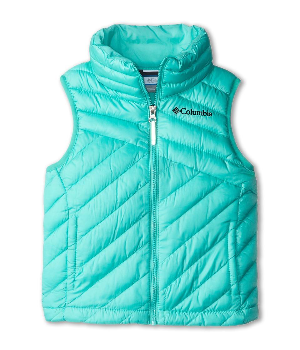 Columbia Kids - Powder Lite Vest (Little Kids/Big Kids) (Oceanic/Black) Girl's Vest