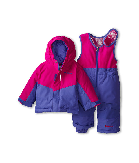 Columbia Kids - Buga Set (Infant/Toddler) (Groovy Pink/Purple Lotus) Kid's Active Sets