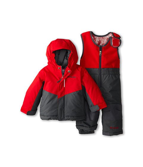 Columbia Kids - Buga Set (Infant/Toddler) (Bright Red/Graphite) Kid's Active Sets