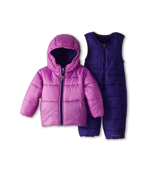 Columbia Kids - Bright Snow Set (Infant/Toddler) (Blossom Pink/Hyper Purple) Kid