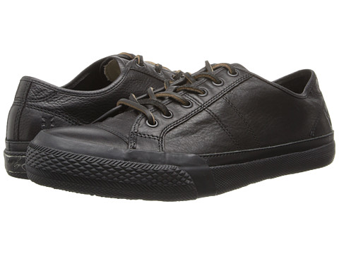 Frye - Greene Low Lace (Black Dipped Soft Vintage) Men