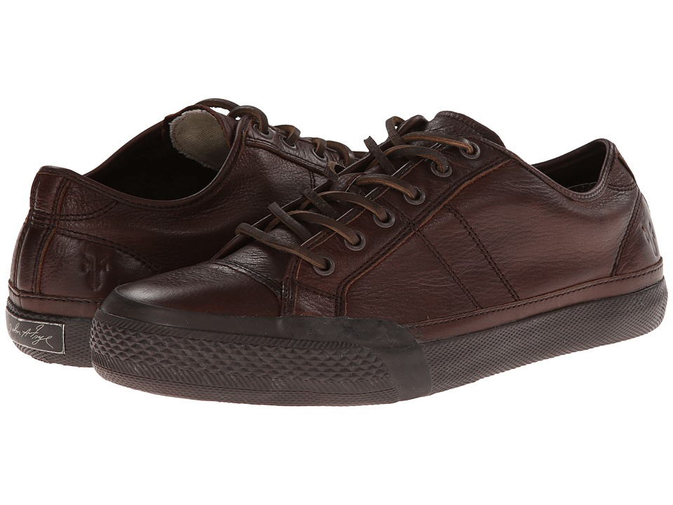 Frye Greene Low Lace (Dark Brown Dipped Soft Vintage) Men