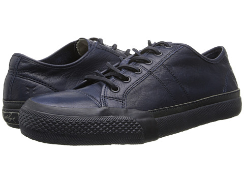 Frye - Greene Low Lace (Navy Dipped Soft Vintage) Men