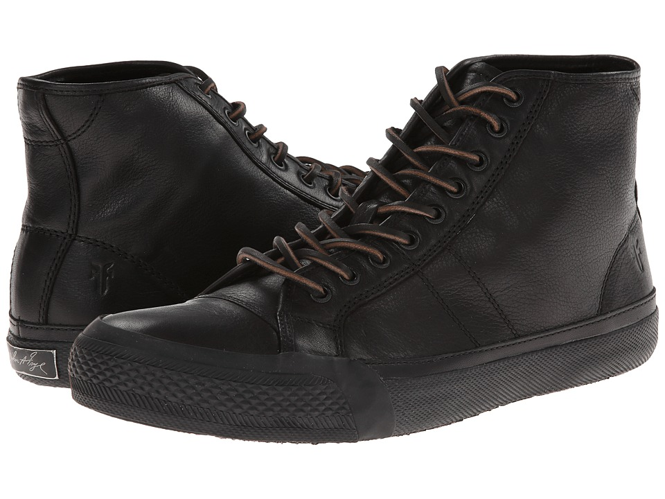 Frye - Greene Tall Lace (Black Dipped Soft Vintage) Men's Lace up casual Shoes