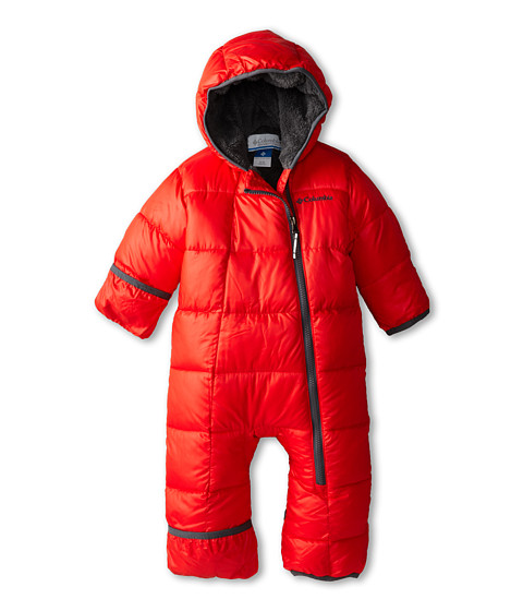 Columbia Kids - Frosty Freeze Bunting (Infant) (Bright Red/Graphite) Kid's Jumpsuit & Rompers One Piece