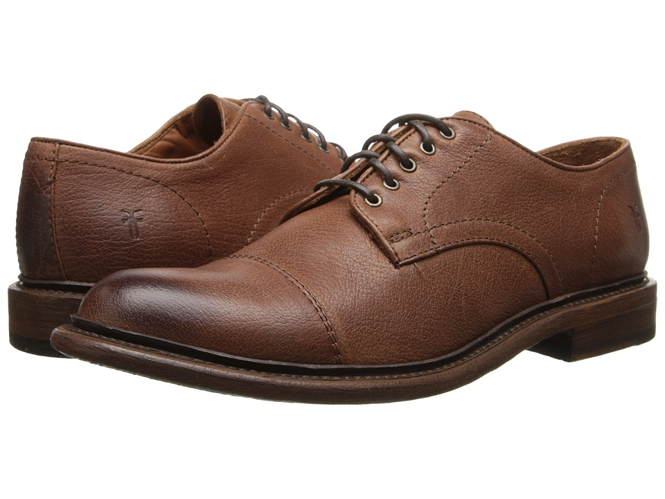 Frye Jack Oxford (Whiskey Buffalo Leather) Men