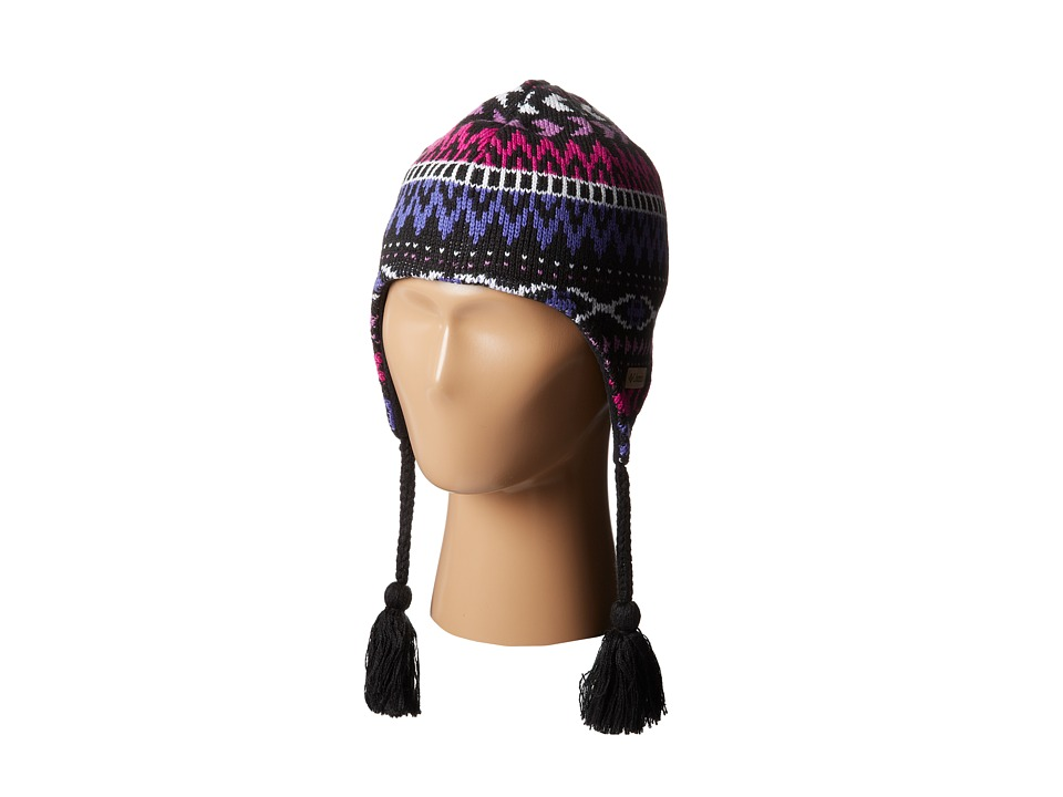 Columbia Kids - Alpine Action Peruvian (Big Kids) (Black 012) Knit Hats
