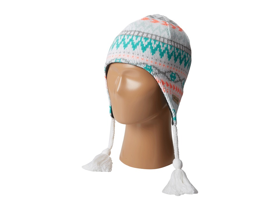 Columbia Kids - Alpine Action Peruvian (Big Kids) (White) Knit Hats
