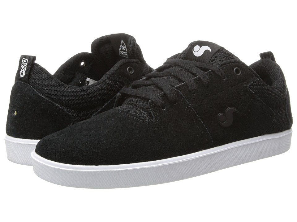 DVS Shoe Company - Nica (Black Suede) Men's Skate Shoes