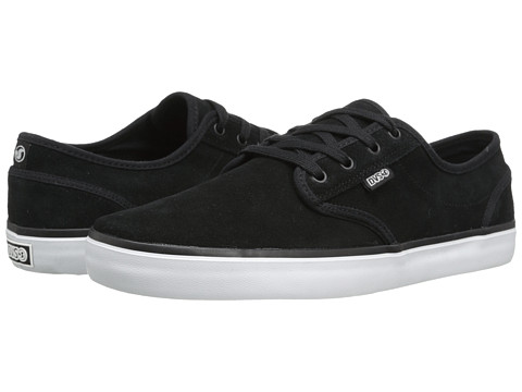 DVS Shoe Company - Rico CT (Black/White Suede) Men