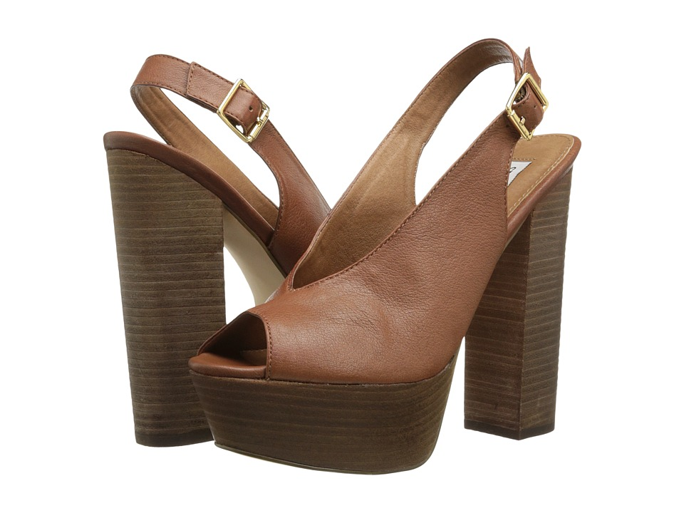 Steve Madden - Skinny (Brown Leather) High Heels