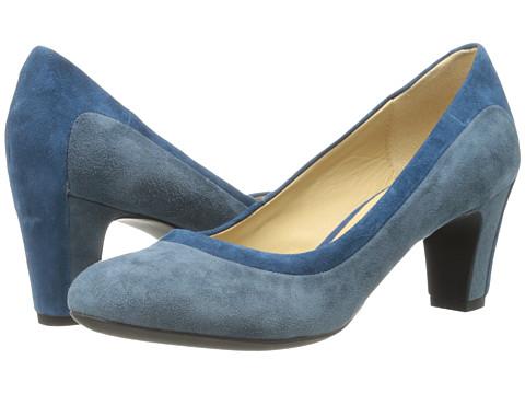 Geox - D Mariele Mid (Blue/Avio (Suede Streamline)) High Heels