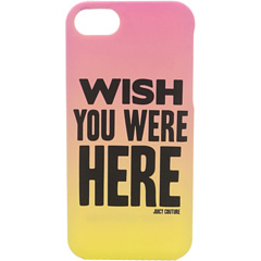 SALE! $16.99 - Save $8 on Juicy Couture Wish You Were Here Case for iPhone 5 (Highlighter) Bags and Luggage - 32.04% OFF $25.00