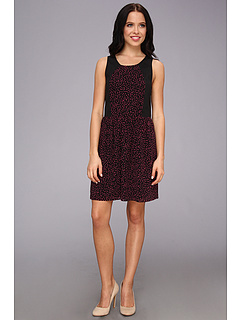 SALE! $39.99 - Save $49 on kensie Dots Dress (Hot Pink Multi) Apparel - 55.07% OFF $89.00