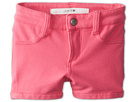 Joe's Jeans Kids Neon French Terry 3 Mini Short w/ Side Slits (Toddler/Little Kids) (Neon Pink)