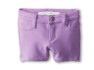 Joe's Jeans Kids Neon French Terry 3 Mini Short w/ Side Slits (Toddler/Little Kids) (Neon Purple)