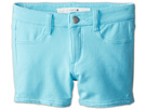 Joe's Jeans Kids Neon French Terry 3 Mini Short w/ Side Slits (Little Kids/Big Kids) (Neon Blue)