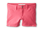 Joe's Jeans Kids Neon French Terry 3 Mini Short w/ Side Slits (Little Kids/Big Kids) (Neon Pink)