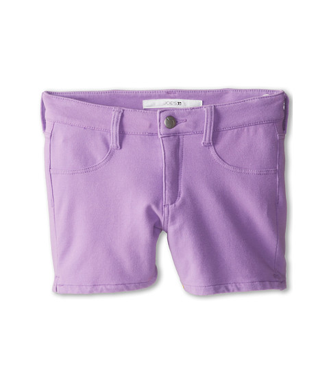 Joe's Jeans Kids - Neon French Terry 3 Mini Short w/ Side Slits in Neon Purple (Little Kids/Big Kids) (Neon Purple) Girl's Shorts