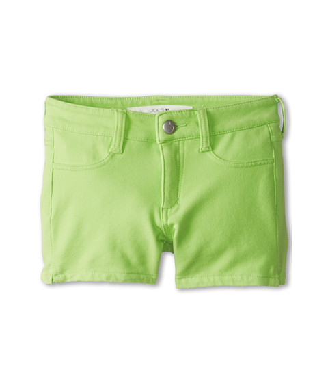 Joe's Jeans Kids - Neon French Terry 3 Mini Short w/ Side Slits in Neon Green (Little Kids/Big Kids) (Neon Green) Girl's Shorts