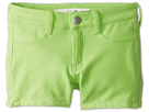 Joe's Jeans Kids Neon French Terry 3 Mini Short w/ Side Slits (Little Kids/Big Kids) (Neon Green)