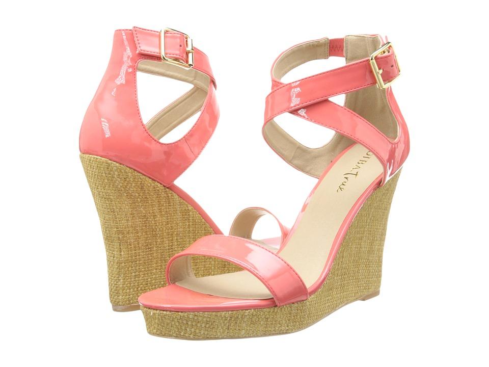 Diba - Ocean Shore (Coral) Women's Wedge Shoes