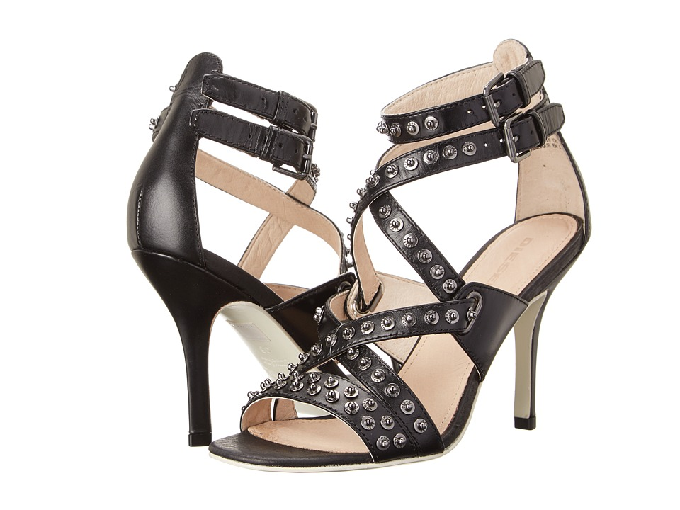Diesel Atomic Blondie Rivette (Black) High Heels