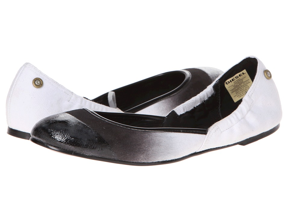 Diesel - Pointy Closin (Black/White) Women