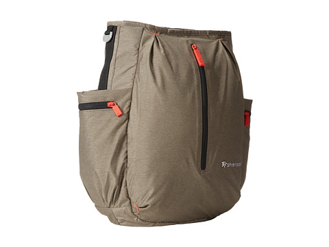 Sherpani - Quest Convertible Backpack (Heathered Light Brown) Backpack Bags