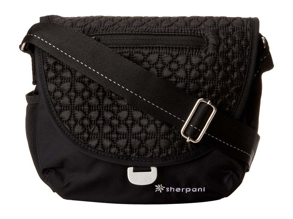 Sherpani - Milli Small Messenger Bag (Black) Messenger Bags