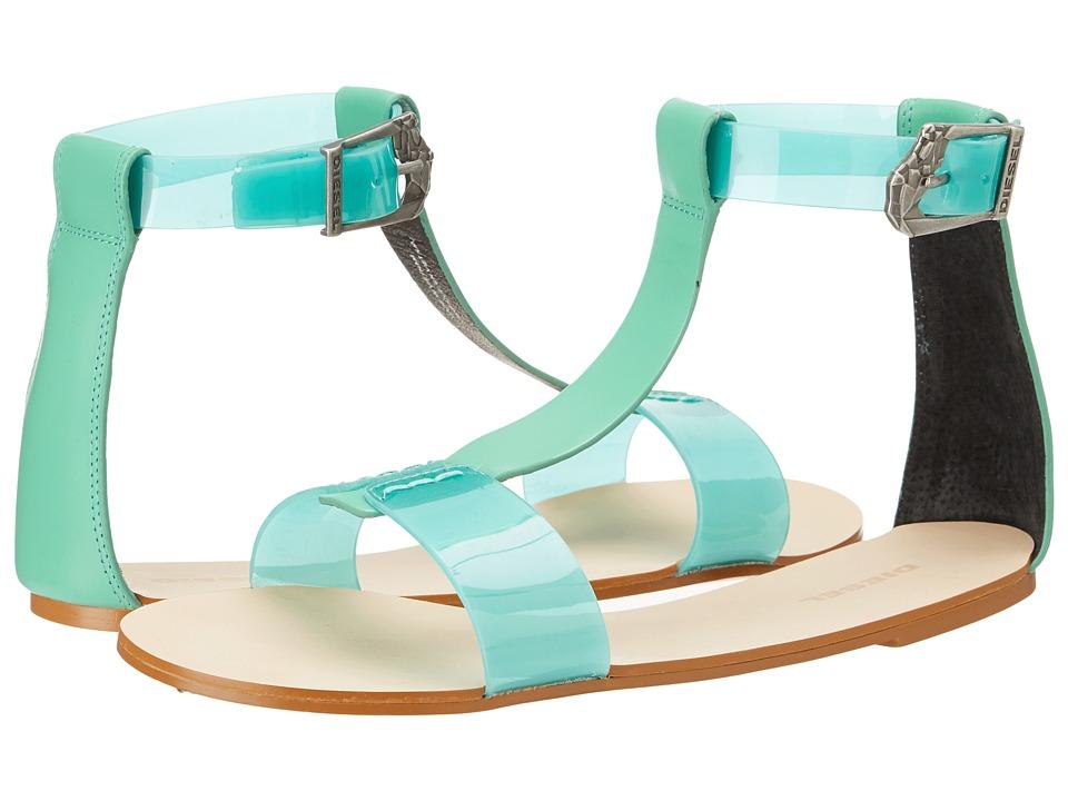 Diesel - Walayla Kapp-Two W (Green) Women's Sandals