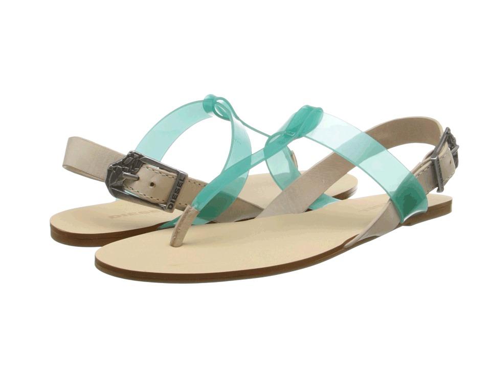 Diesel Walayla Himalie W Green Womens Sandals