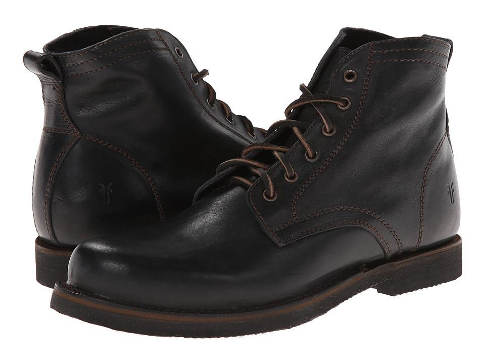 Frye - Roland Lace Up (Black Antique) Men's Lace-up Boots