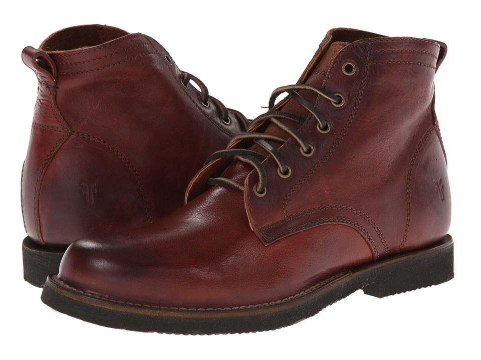 Frye - Roland Lace Up (Redwood Antique) Men's Lace-up Boots