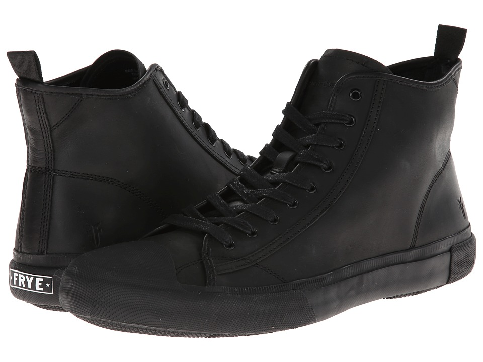 Frye - Ryan Mid Lace (Black Antique) Men