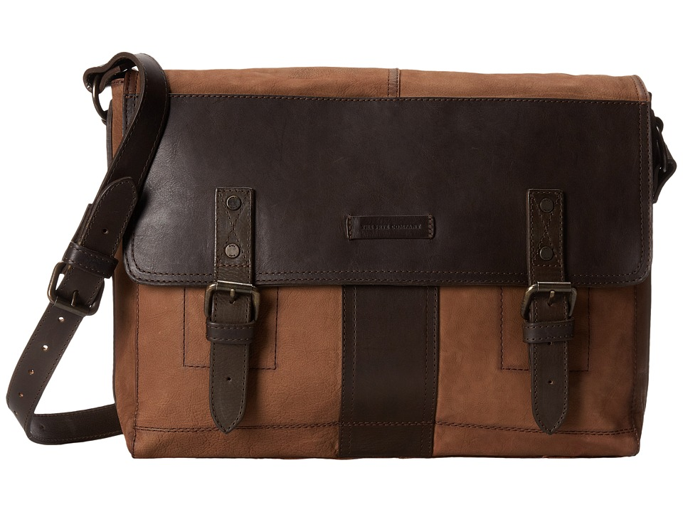 Frye - Trevor Messenger (Taupe Washed Buffalo) Messenger Bags