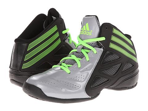 adidas Kids - NXT LVL SPD 2 (Little Kid/Big Kid) (Light Granite/Solar Green/Black) Boys Shoes