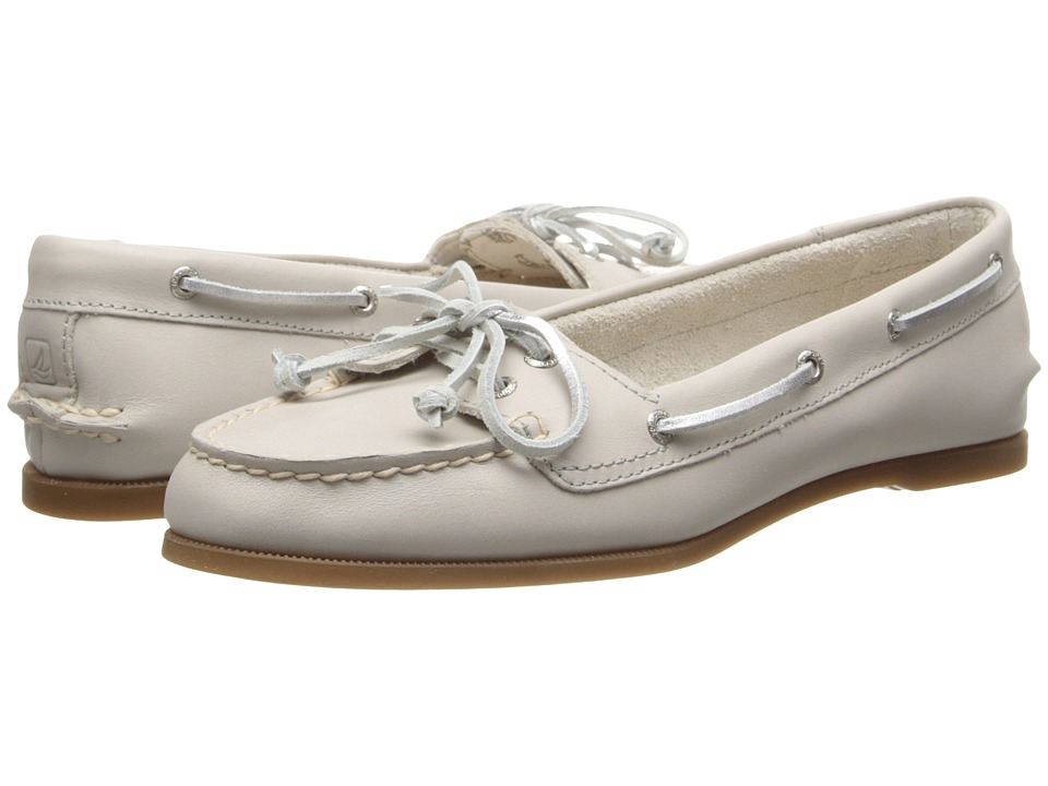 Sperry Top-Sider - Audrey (Light Grey) Women's Slip on Shoes