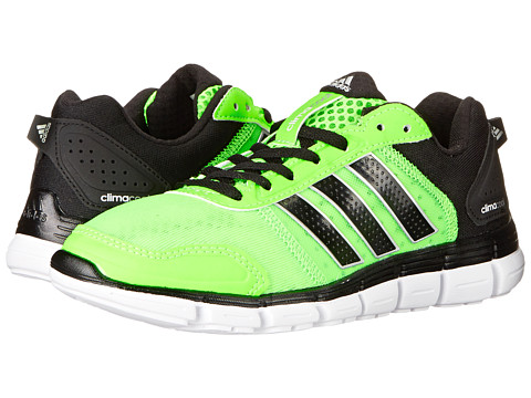 adidas Kids - Climacool Aerate 3x (Little Kid/Big Kid) (Solar Green/Black/Silver Metallic) Boys Shoes