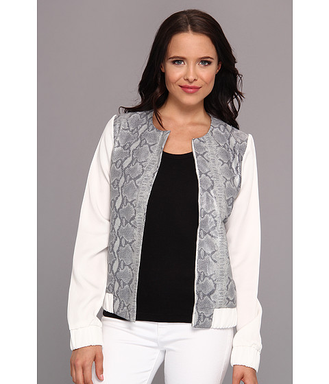 Townsen - Reptile Baseball Jacket (Grey) Women's Coat
