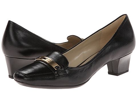 Naturalizer - Flynn (Black Leather) Women's Shoes