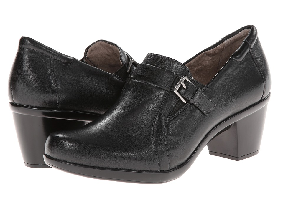 Naturalizer - Elementary (Black Leather) Women's Shoes
