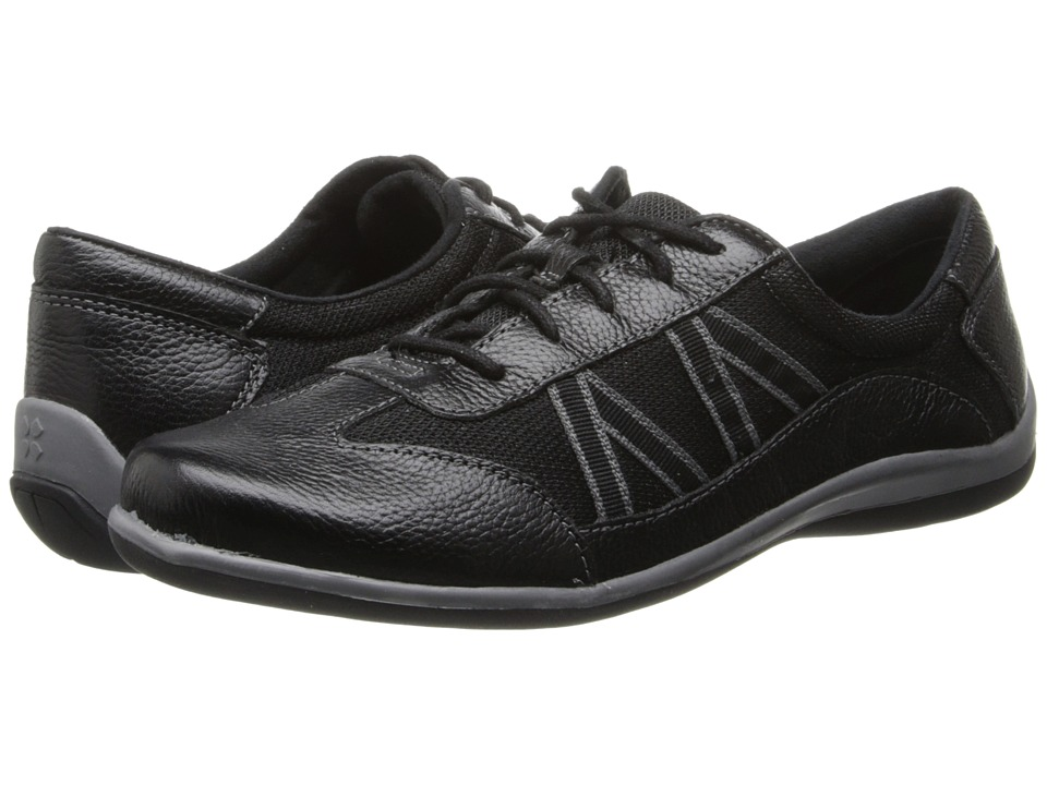 Naturalizer - Defoe (Black Leather/Mesh) Women