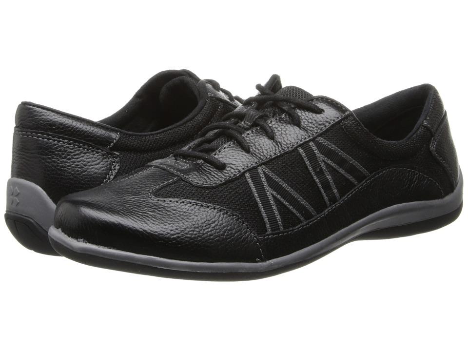 Naturalizer - Defoe (Black Leather/Mesh) Women's Shoes