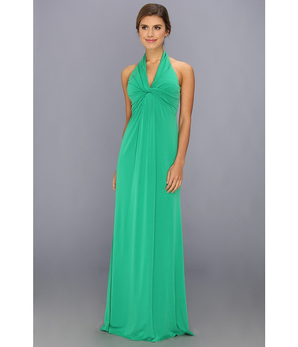 Jessica Simpson - Halter Ity Social (Green) Women's Dress