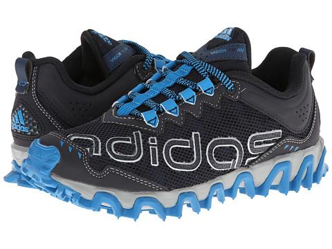 adidas Kids - Vigor TR 4 (Little Kid/Big Kid) (Night Grey/Silver Metallic/Solar Blue) Boys Shoes