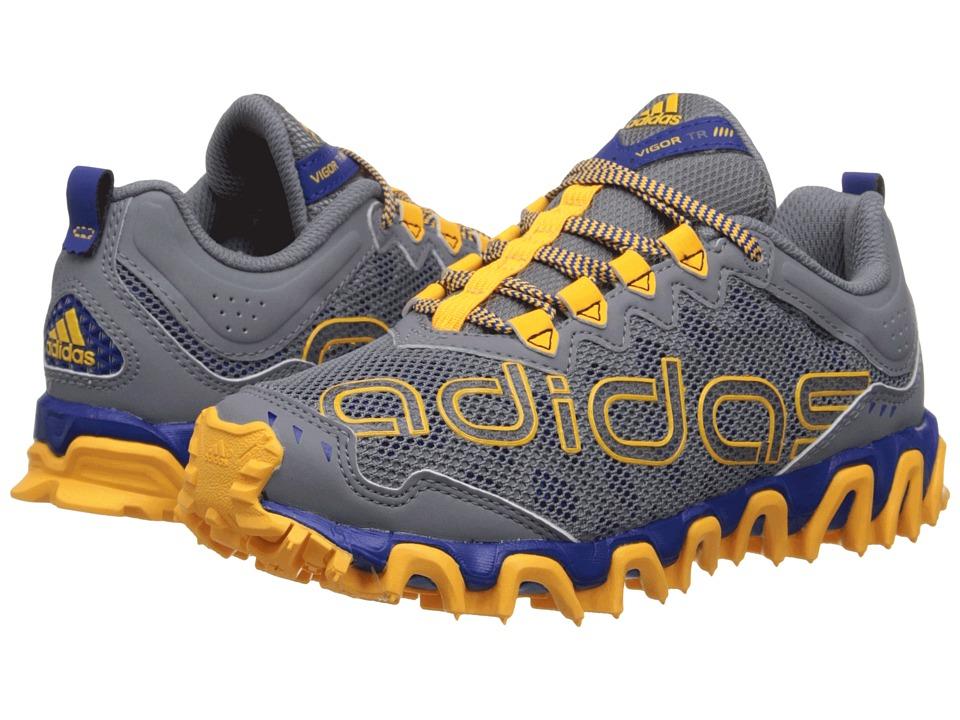 adidas Kids - Vigor TR 4 (Little Kid/Big Kid) (Grey/Solar Gold/Collegiate Royal) Boys Shoes