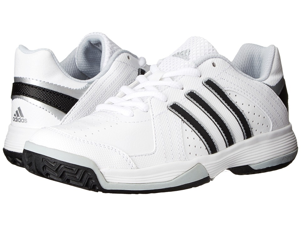 adidas Kids - Response Approach (Little Kid/Big Kid) (Core White/Black/Clear Grey) Boys Shoes