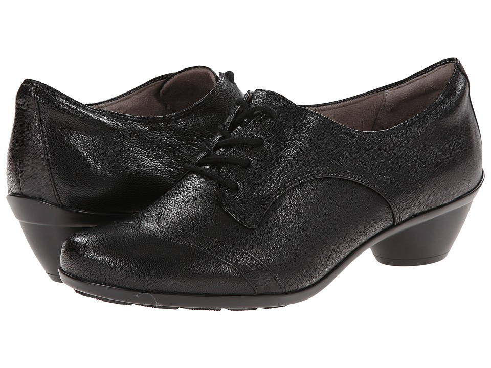 Naturalizer - Hampshire (Black Leather) Women's Shoes